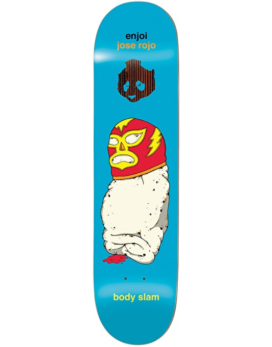 Enjoi Rojo Body Slam Impact Support Pro Deck - 8""