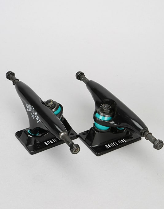 Route One Arch Logo 5.0 Low Team Trucks (Pair)