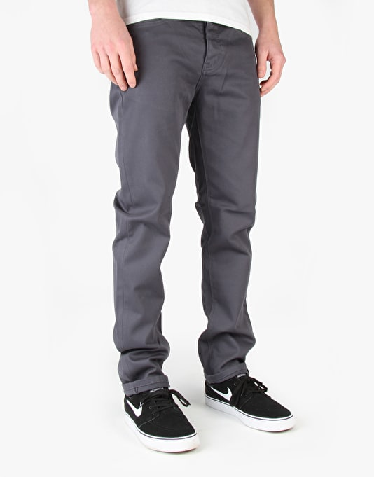 Kr3w K Slim 5 Pocket Jeans - Dark Slate