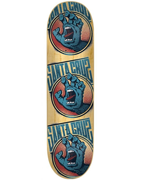 Santa Cruz Screaming Tag Team Deck - 7.6""