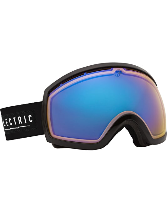 Electric EG2 2015 Snowboard Goggles - Gloss Black - Yellow/Blue Chrome