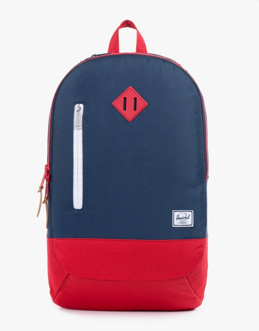 Herschel Supply Co. Village Backpack - Navy/Red Rubber
