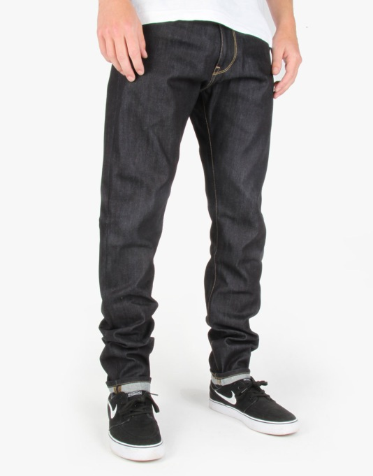 Carhartt Vicious Pant 'Merced' Blue Denim - Blue Rigid