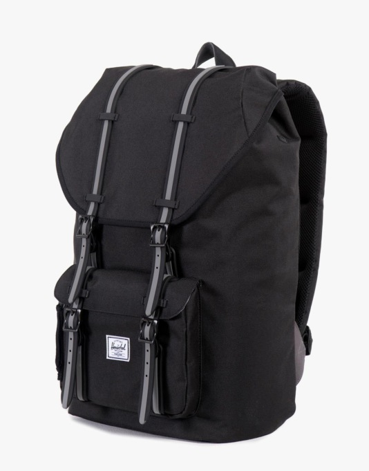 Herschel Supply Co. Hounds Collection Little America Backpack - Black