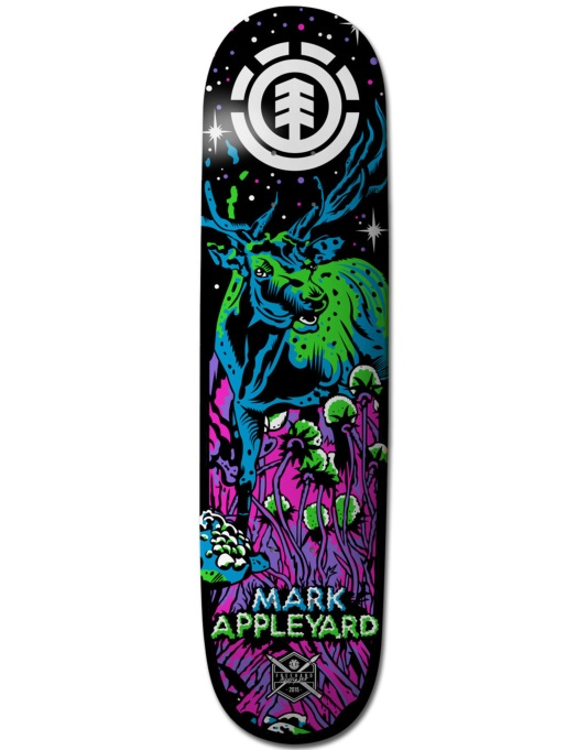 Element Appleyard Neon Night Featherlight Pro Deck - 7.875""