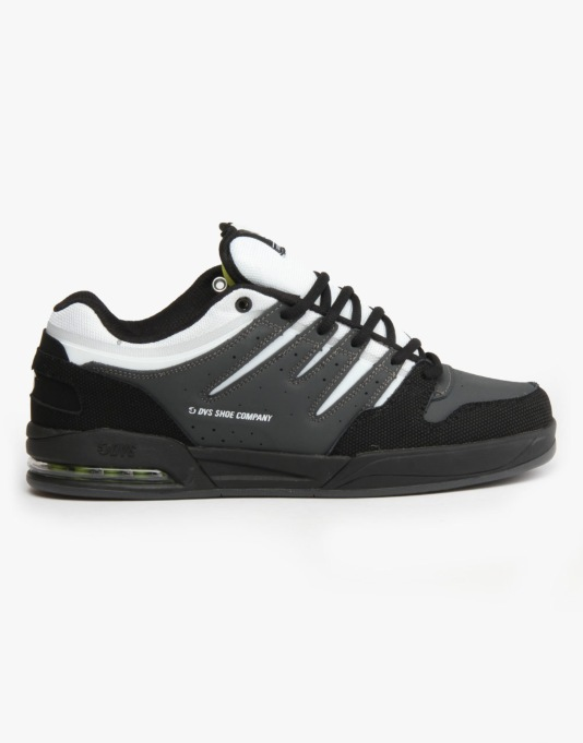 DVS Tycho Skate Shoes - Grey Black Trubuck