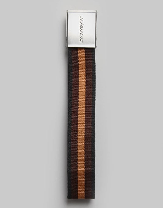 Dickies Portville Web Belt - Brown Duck