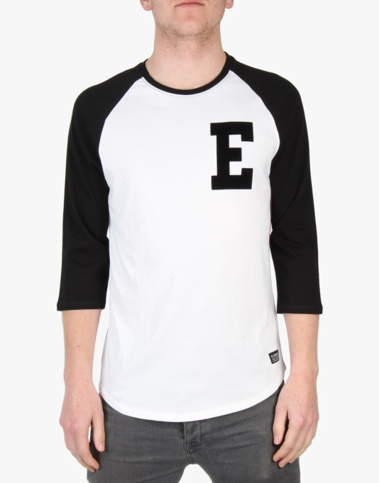 Element Baseball Initial 3/4 T-Shirt - Black