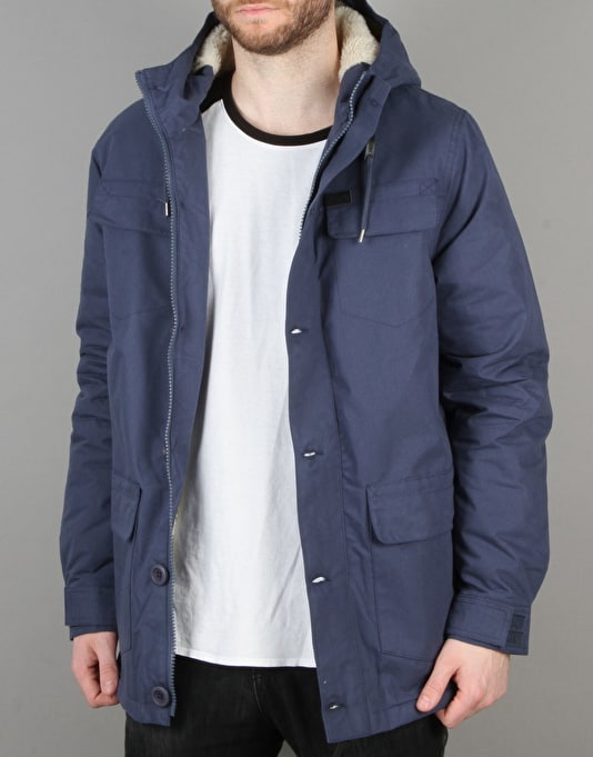 Globe Goodstock Parka II Jacket - Oil Blue