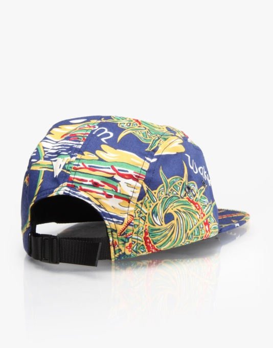 HUF Souvenir Volley 5 Panel Cap - Blue