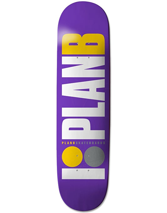 Plan B OG Team Deck - 8.375""