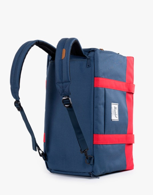 Herschel Supply Co. Keats Duffel Bag - Navy/Red
