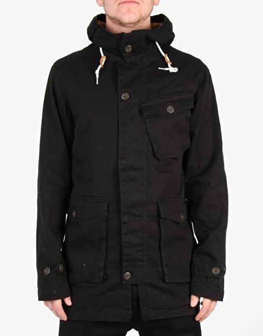 Colour Wear Haga Parka 2015 Snowboard Jacket - Black