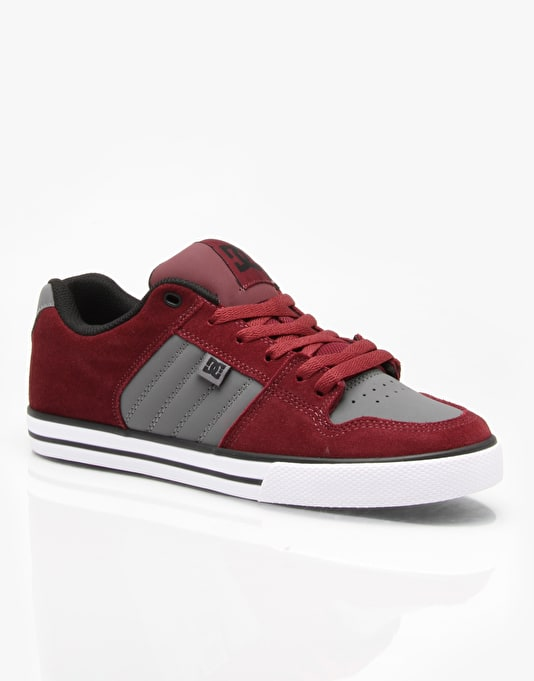 DC Course Skate Shoes - Burgundy