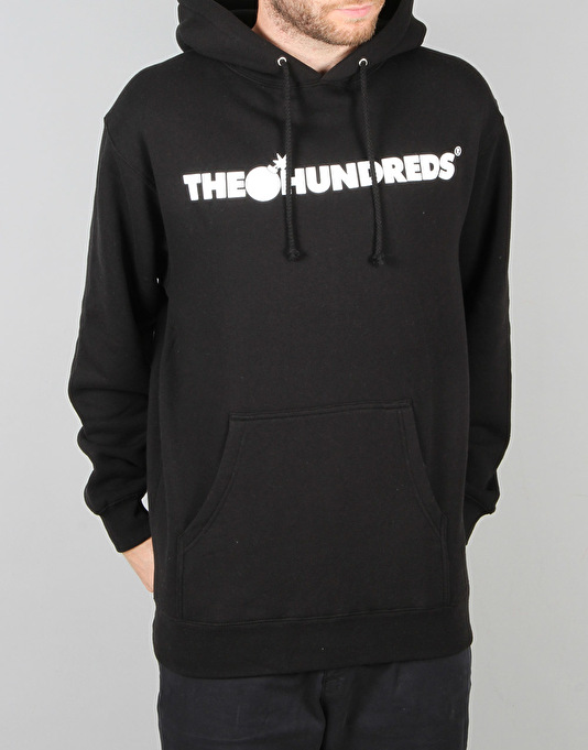 The Hundreds Forever Bar Pullover Hoodie - Black