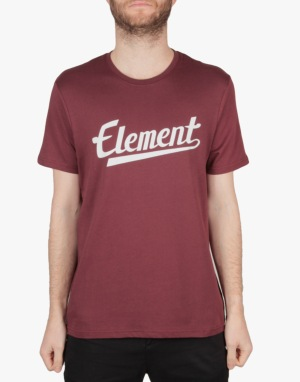 Element Signature T-Shirt - Wine