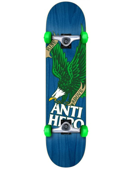 Anti Hero Rise Above Woodgrain Complete - 7.5""