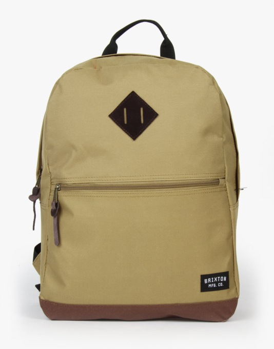 Brixton Garson Backpack - Khaki/Brown