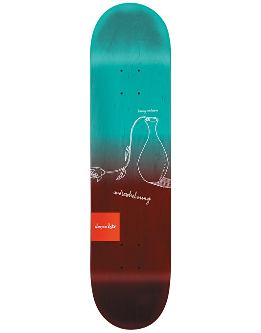 Chocolate Anderson Sketch Fade Pro Deck - 8.125""