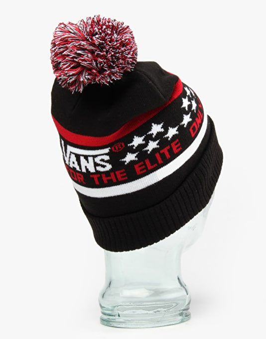 Vans Elite Beanie - Black/Jester Red