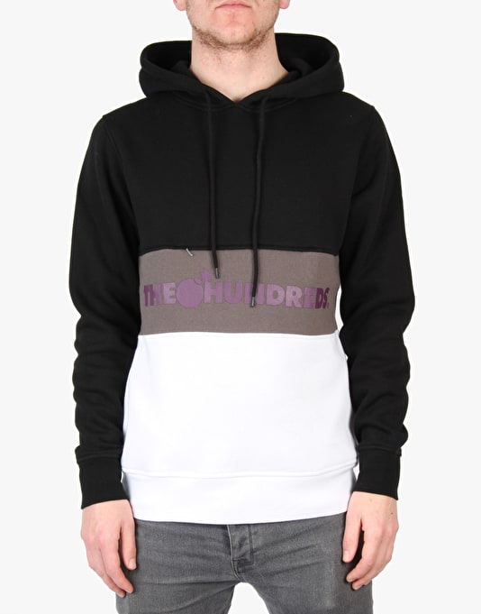 The Hundreds Edgewood Pullover Hoodie - Black