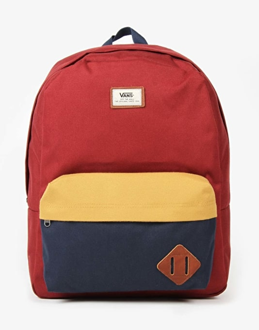 bc77f8be68b0 Vans Old Skool II Backpack - Russet Colourblock