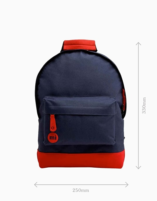 Mi-Pac Mini Classic Backpack - Navy/Red