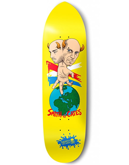 Death x CRV WKD x Cates x Smith Pro Deck - 8.75""