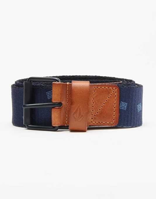Volcom Back Country Belt - Navy