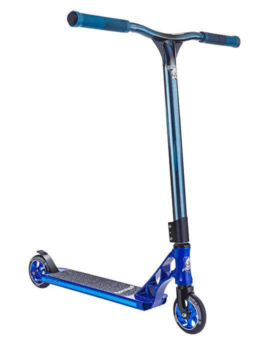 Grit Tremor 2015 Scooter - Blue/Raw Blue