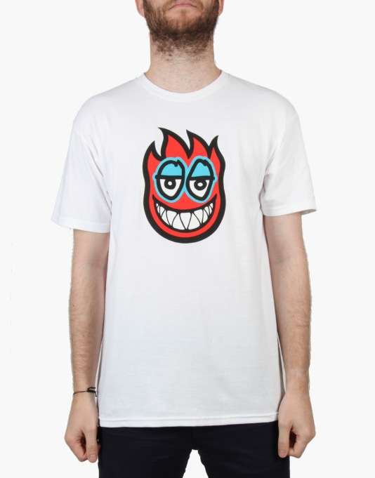 Krooked x Spitfire Fire Eyes T-Shirt - White