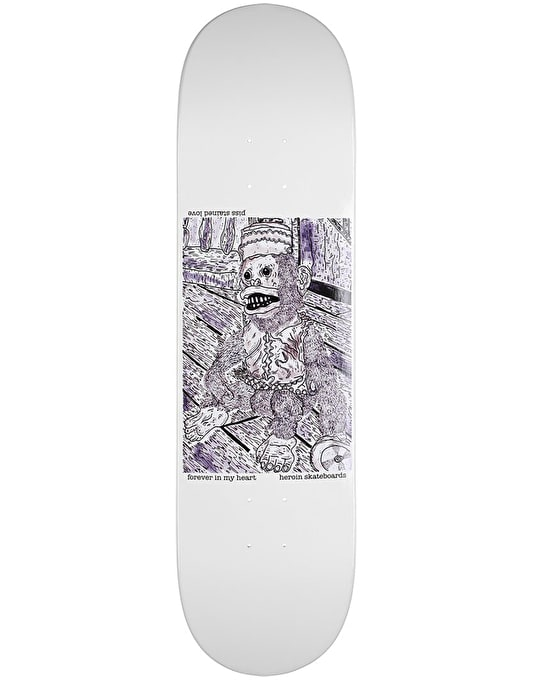 Heroin Piss Stained Love Team Deck - 8.38""