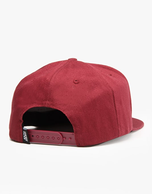 Anti Hero Skate Co. Snapback Cap - Maroon