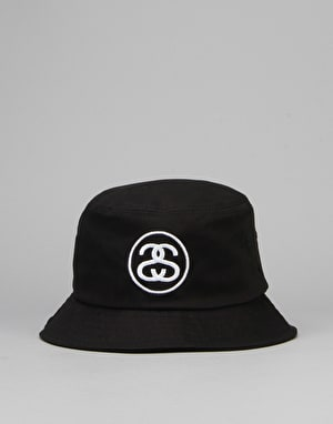 Stüssy SS Link Bucket Hat - Black