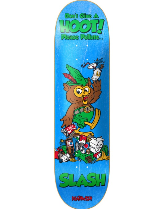Deathwish Slash Mascot Mayhem Pro Deck - 8.38""