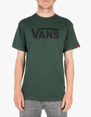 Vans Classic T-Shirt - Forest/Medieval Blue