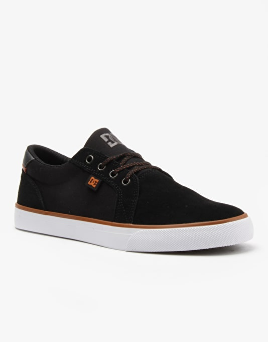DC Council SD Skate Shoes - Black/Brown/White