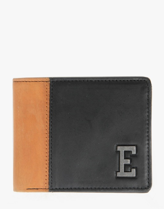 Element Kramer Leather Wallet - Black