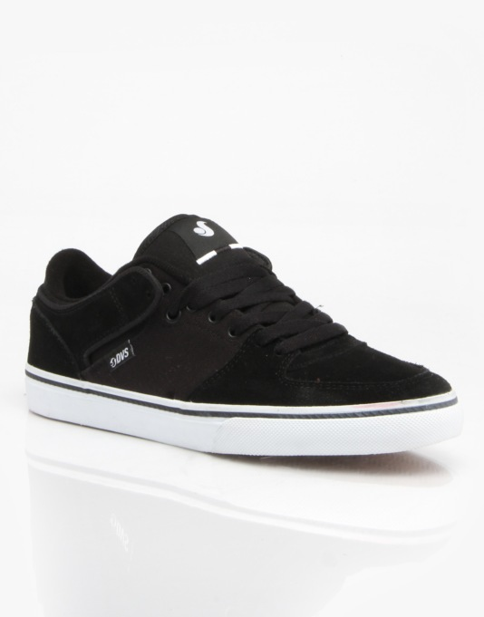 DVS Torey Lo Skate Shoes - Black Suede