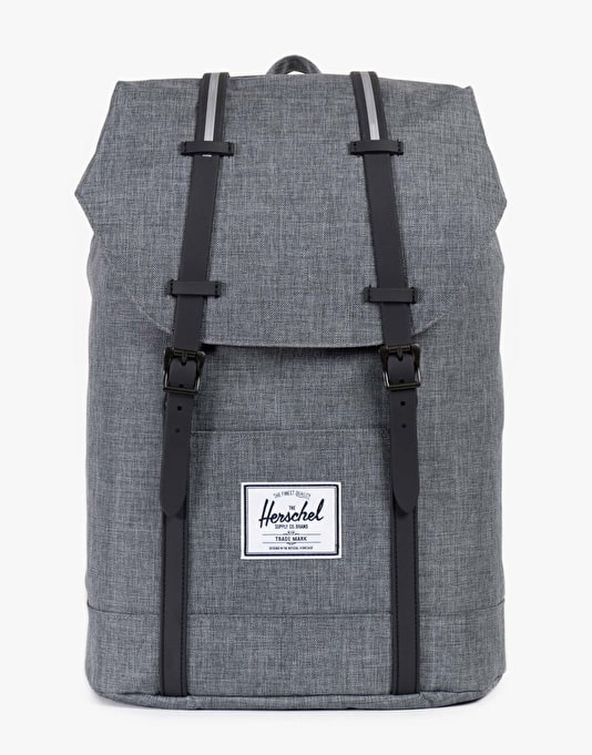 Herschel Supply Co. Retreat Backpack - Charcoal/Black Insert Rubber