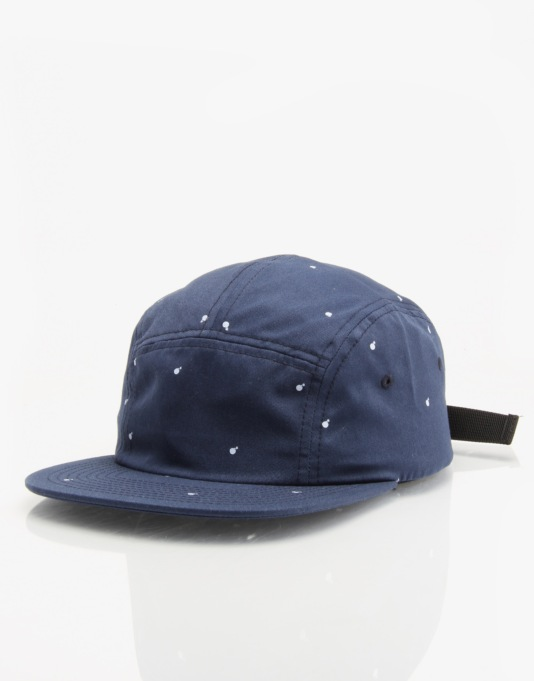 The Hundreds Sting 5 Panel Cap - Navy