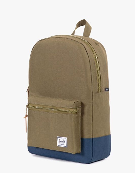 Herschel Supply Co. Settlement Mid Volume Backpack - Army/Navy Rubber