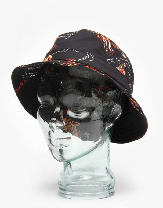 HUF Makapuu Bucket Hat - Black
