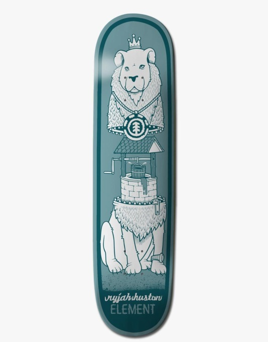 Element x Jeremy Fish Nyjah Zipper Featherlight Pro Deck - 7.75""