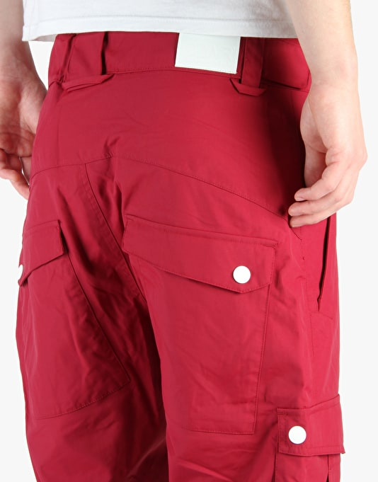 Colour Wear CLWR 2015 Snowboard Pants - Burgundy