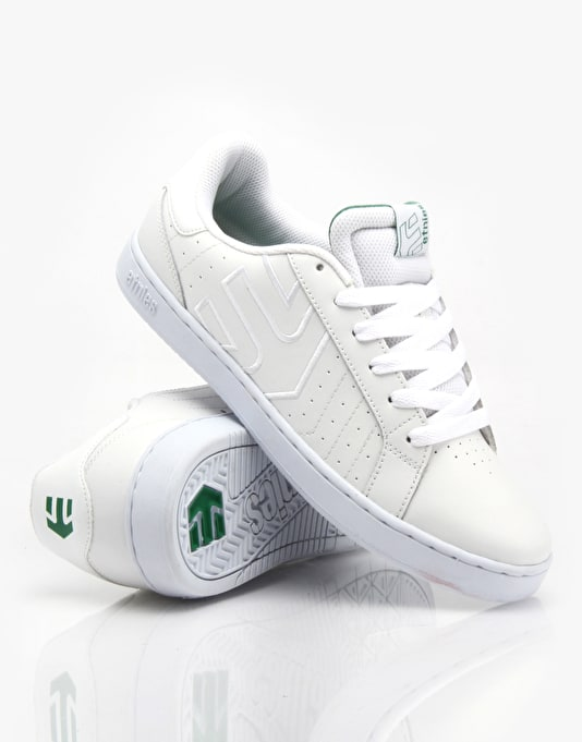 Etnies Fader LS Skate Shoes - White