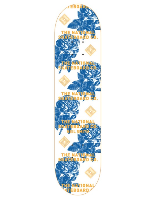 The National Skateboard Co. Smith Roses II Pro Deck - 8""