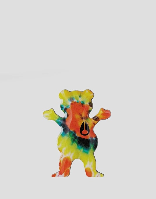 Nixon x Grizzly Pin Badge - Tie Dye/Grizzly