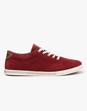 Globe Lighthouse Slim Skate Shoes - Port/Tan