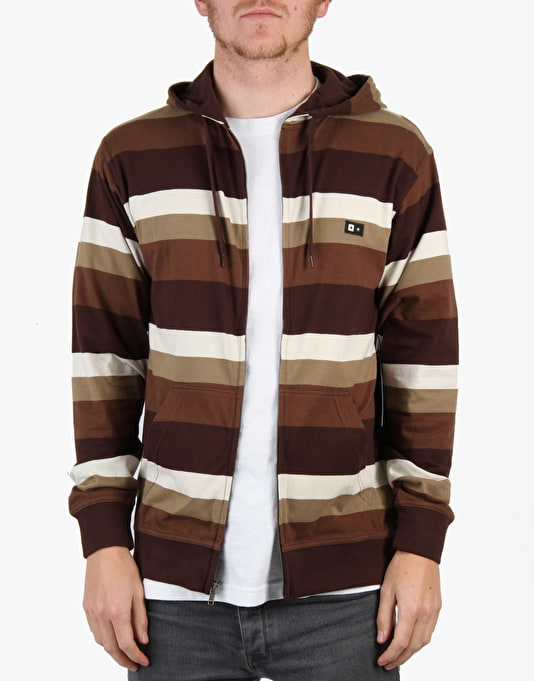 Fourstar Stanford Zip Hoodie - Coffee